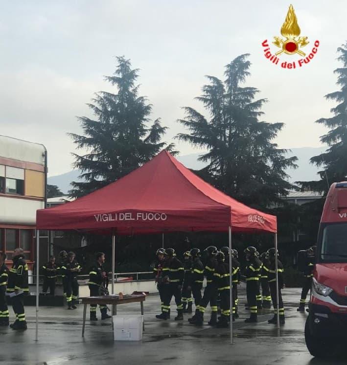 vigili fuoco - Brescia