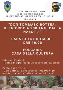 Folgaria - don Bottea