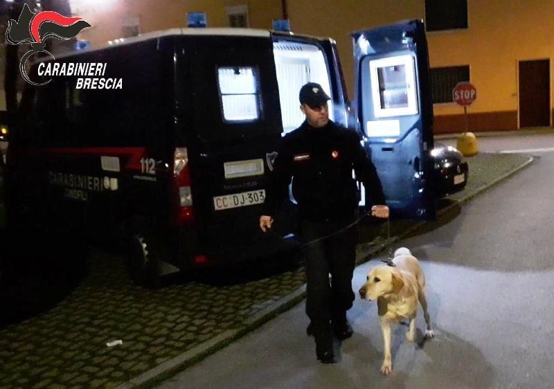 carabinieri - Brescia droga