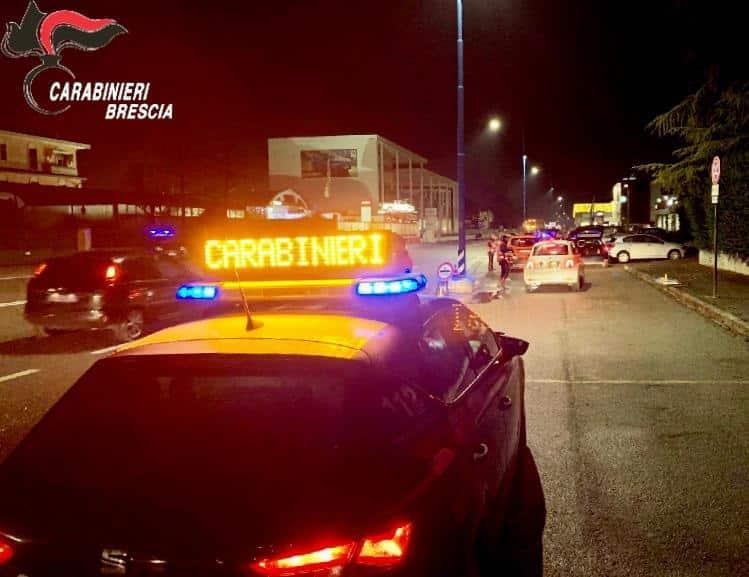 Carabinieri - Brescia - controlli