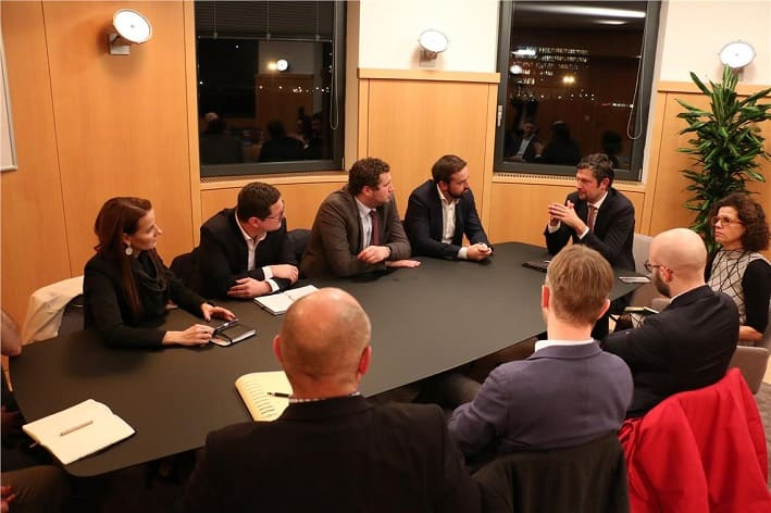 Daniel Alfreider Stefan Schnöll incontro delegazione credit foto ASP Ingo Dejaco