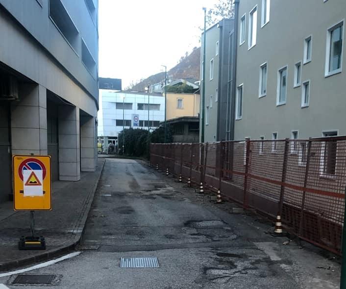 Trento parcheggio multipiano