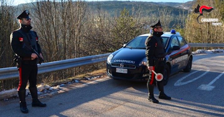 carabinieri cavalese