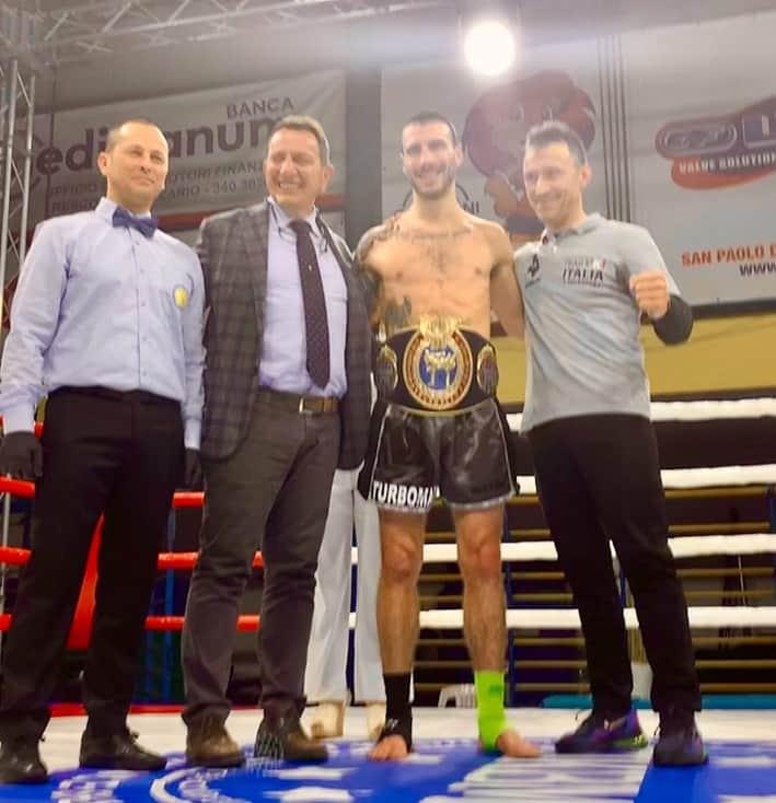Festa Mario Nani con il presidente King Boxing Valle Camonica - il presidente Federale Fikbms Donato Milano