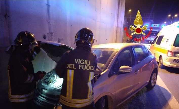 Vigili del fuoco - incidente - Gavardo