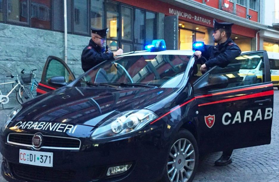 carabinieri bolzano