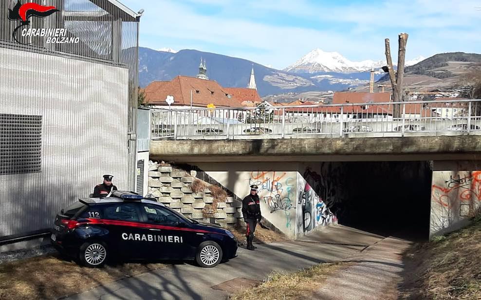 carabinieri bressanone alto adige