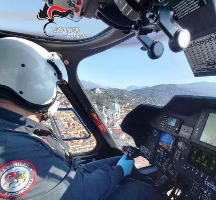 Carabinieri Brescia - aereo