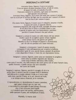 Lettera Mariella 1