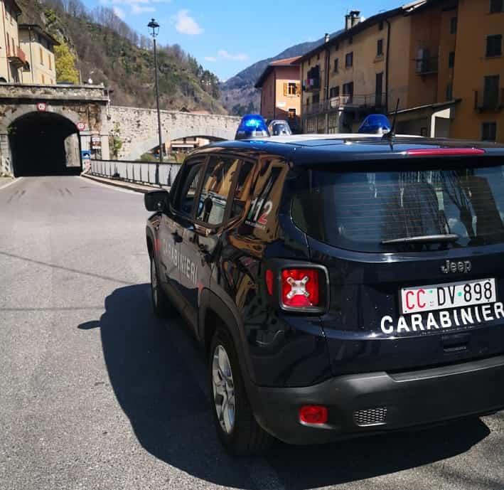 Edolo controlli carabinieri
