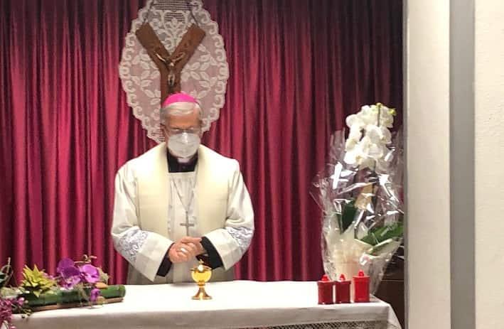 Vescovo Tremolada - ospedale - Edolo