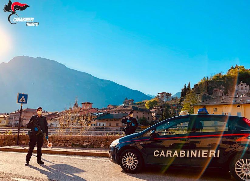 carabinieri trento lavis
