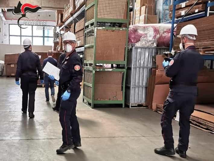 Controlli carabinieri - aziende