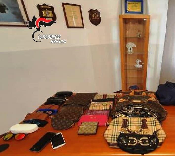 Furti - carabinieri - Brescia