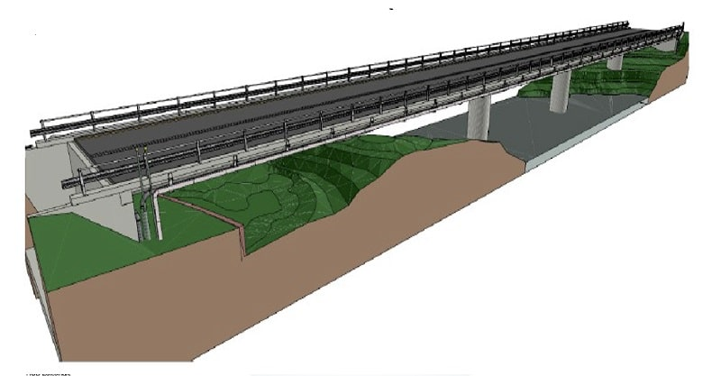 Ponte - Cividate Camuno - rendering