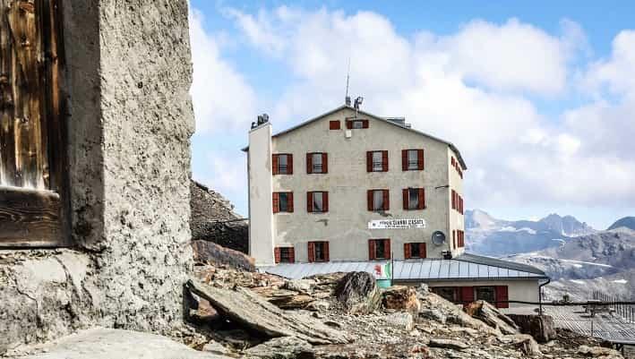 Rifugio Casati foto credit R.L.