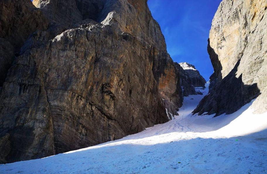 canalone neri scialpinismo gdv dolomiti brenta