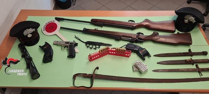 carabinieri Borgo Valsugana arsenale