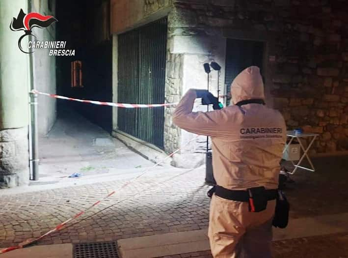 Esine omicidio - carabinieri 1