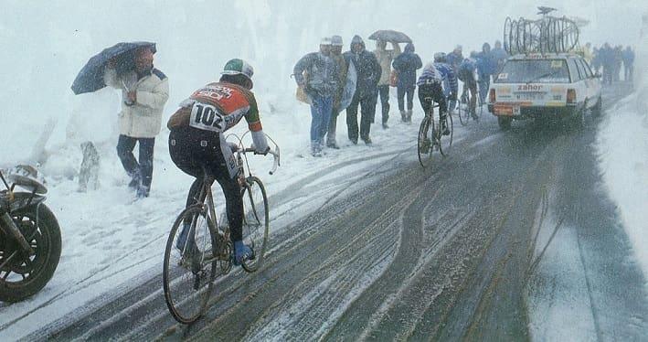 Giro 1988 Passo Gavia foto credit Vitesse