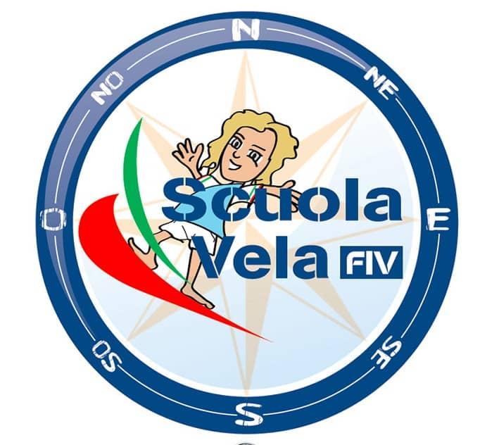 Logo Scuola Vela - Fiv - foto credit Renzo Domini