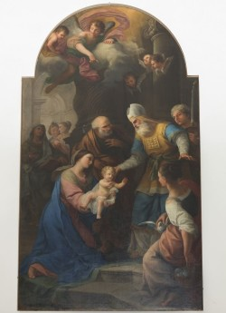 Luigi Vanvitelli - Gesù al tempio - convento Frati Francescani - Cles