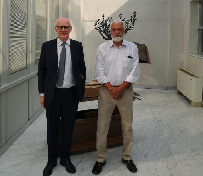 Nella foto da sinistra Mariano Bonatto e Giulio Olivotto