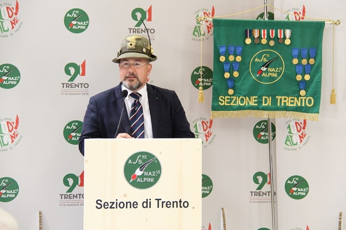 Paolo Frizzi - presidente Ana Trento