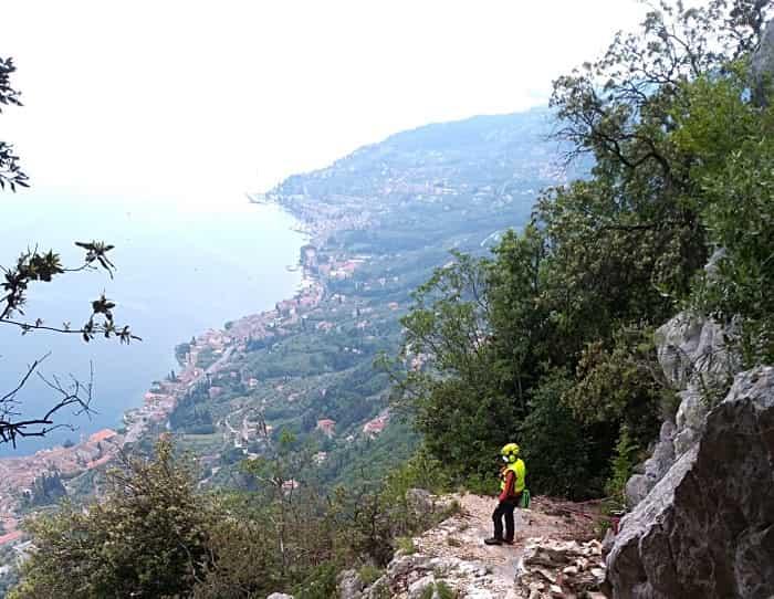 Soccorso alpino - intervento Garda