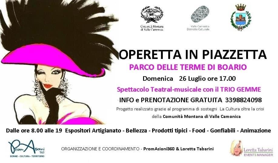 Boario Terme - Operetta piazza
