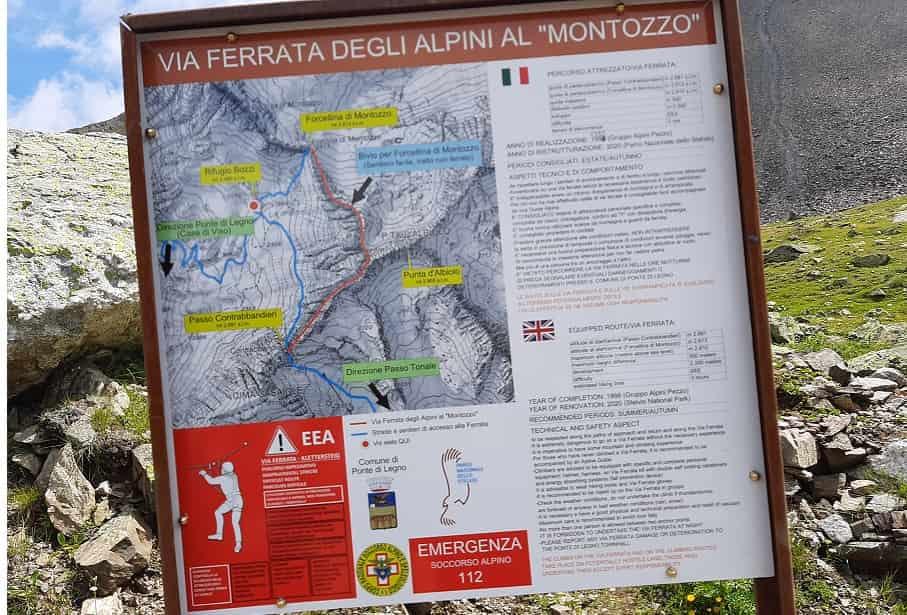 Via Ferrata -Alpini - Montozzo