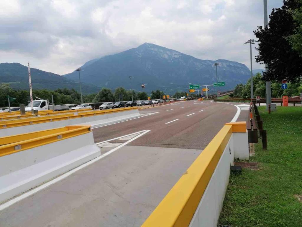 autostrada trento casello a22 strade trentino gdv