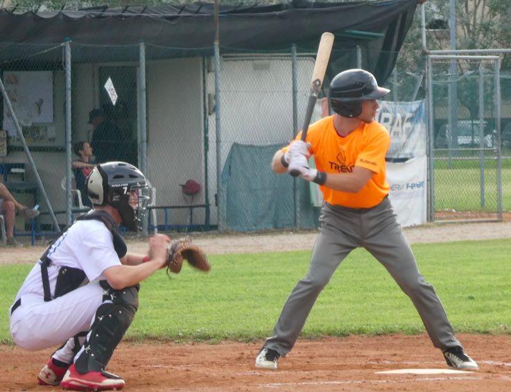 baseball trento