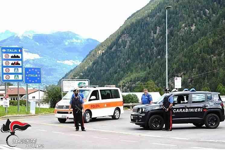 carabinieri polizia svizzera