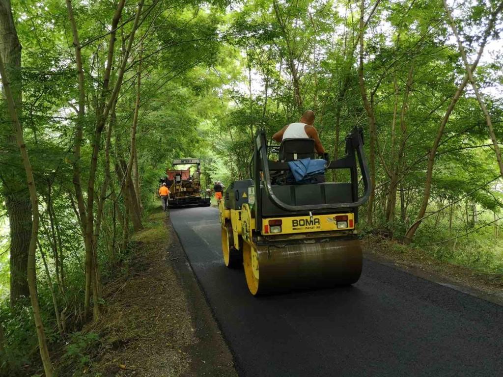 lavori asfaltatura ciclabile