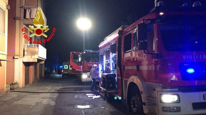 vigili del fuoco - Brescia