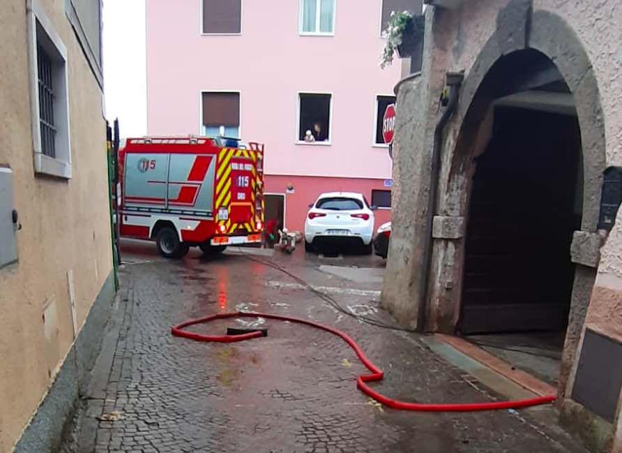 vigili fuoco dro