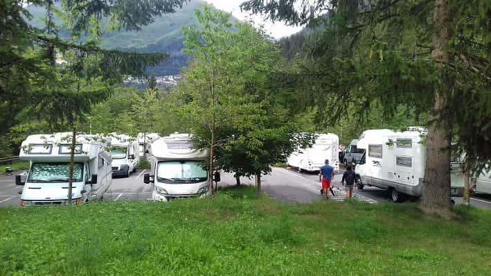 Area camper - Ponte di Legno