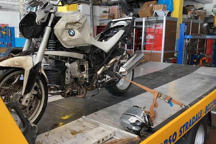 Berzo Demo moto - incidente