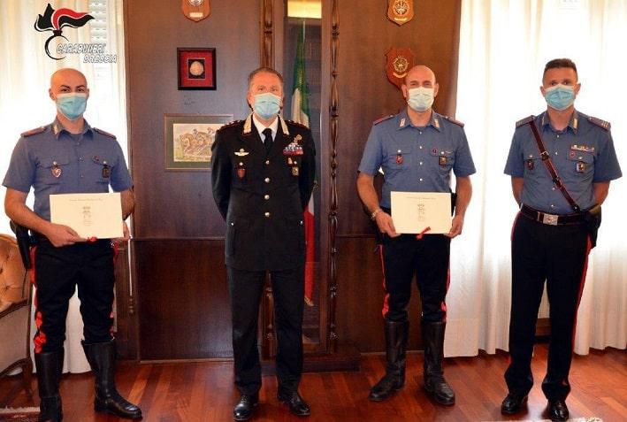 Breno - ringraziamento - carabinieri