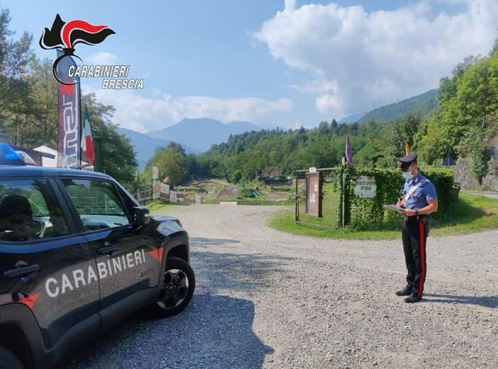 Carabinieri - Edolo - crossodromo - Sonico
