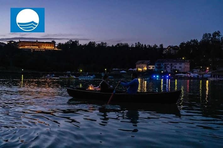 Lago Lavarone - cena -barca