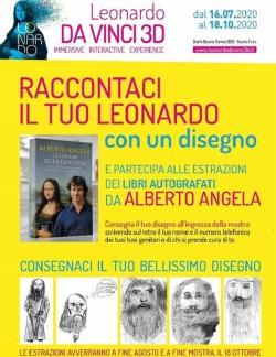 Libro Alberto Angela mostra Leonardo