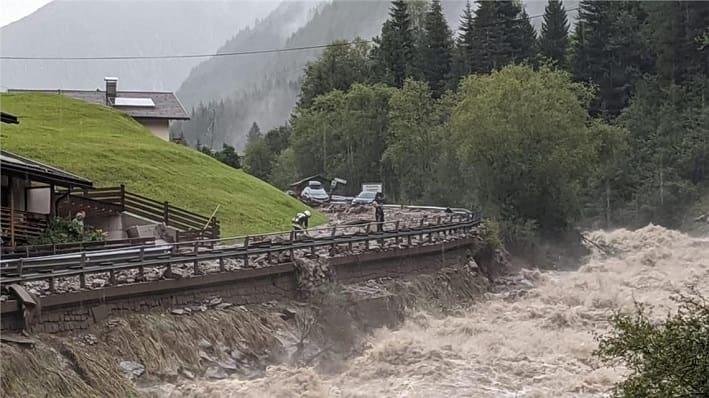 Maltempo Alto Adige credit servizio strade Provincia