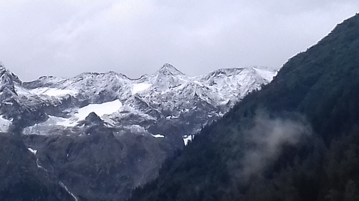 Neve - agosto - Alta Valle Camonica
