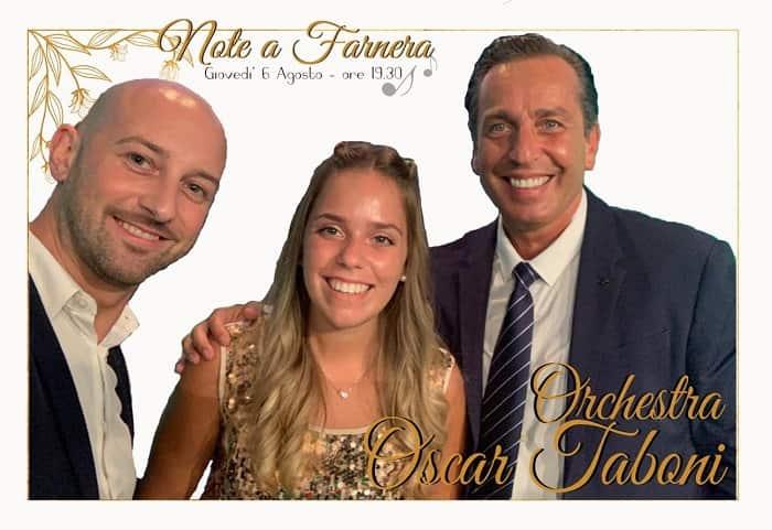 Note a Farnera orchestra Taboni