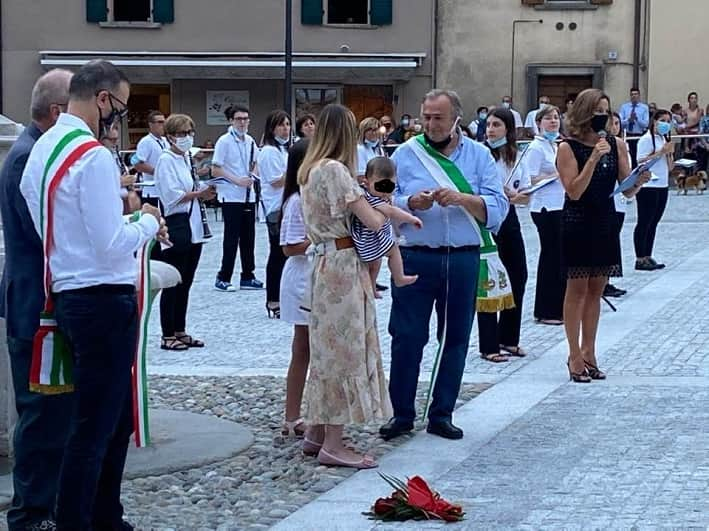 Piazza Ronchi - Breno - inaugurazione