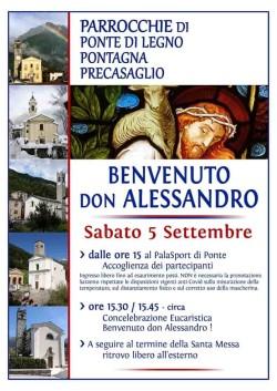 Ponte di Legno - Ingresso don Alessandro Nava