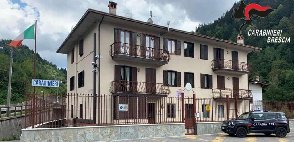 Stazione carabinieri Collio Val Trompia