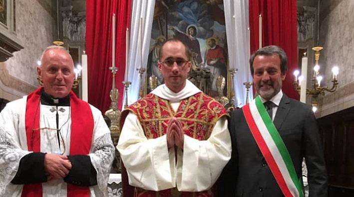 don Giuseppe - dom Tomaso - sindaco Pasquini